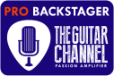 Pro Backstage Pass badge on The Guitar Channel