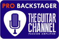 Pro Backstager badge - The Guitar Channel