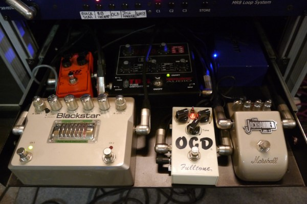 Renaud Louis- Servais - Overdrive pedals
