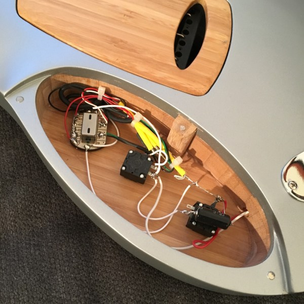 Ethiq Electric guitar inside - Jean-Yves Alquier