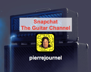 Guitar Snapchat The Guitar Channel: pierrejournel