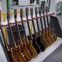 Godin Guitars factory visit in Richmond, Qc Canada