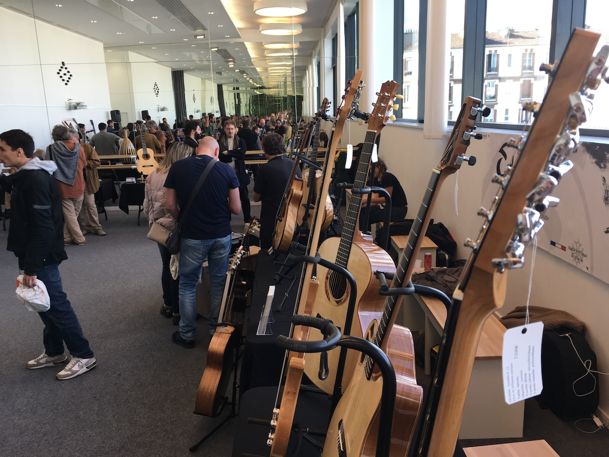 Festival de Guitare de Puteaux 2018 - Luthier show application
