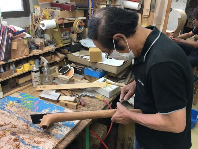 Deviser factory visit (Aska, Japan): Bacchus, Headway, Momose