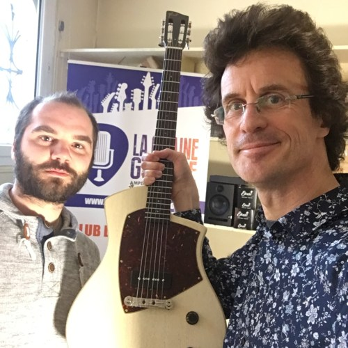 Tony Girault luthier - Pierre Journel (The Guitar Channel)