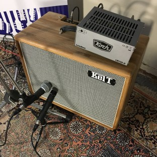 Guitar amp mic shootout - Shure SM57, SM58 and Loadbox Koch LB-120 II