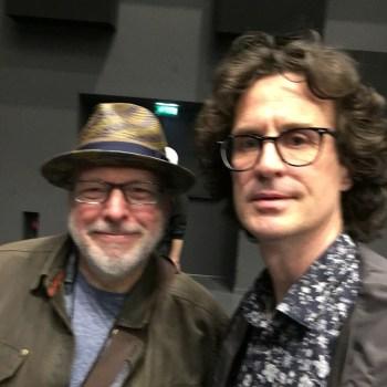 Selfie Mike Keneally / Pierre Journel - G3 2018