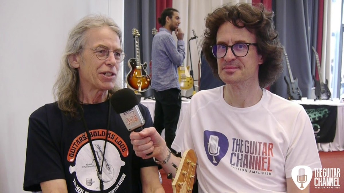Andy Manson interview, luthier for John Paul Jones from Led Zeppelin and much more