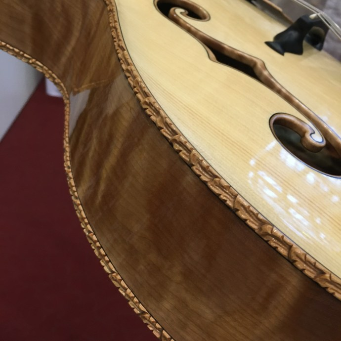 Luthier Juha Ruokangas presents the Emma Maria archtop guitar