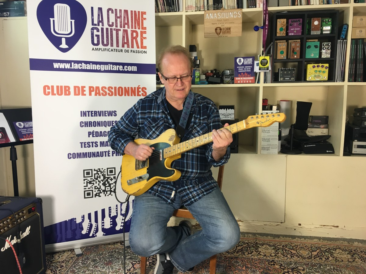 Al Bonhomme interview - Guitar in Hand video about Country Music and more