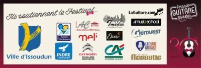 Festival Guitare Issoudun - Partners