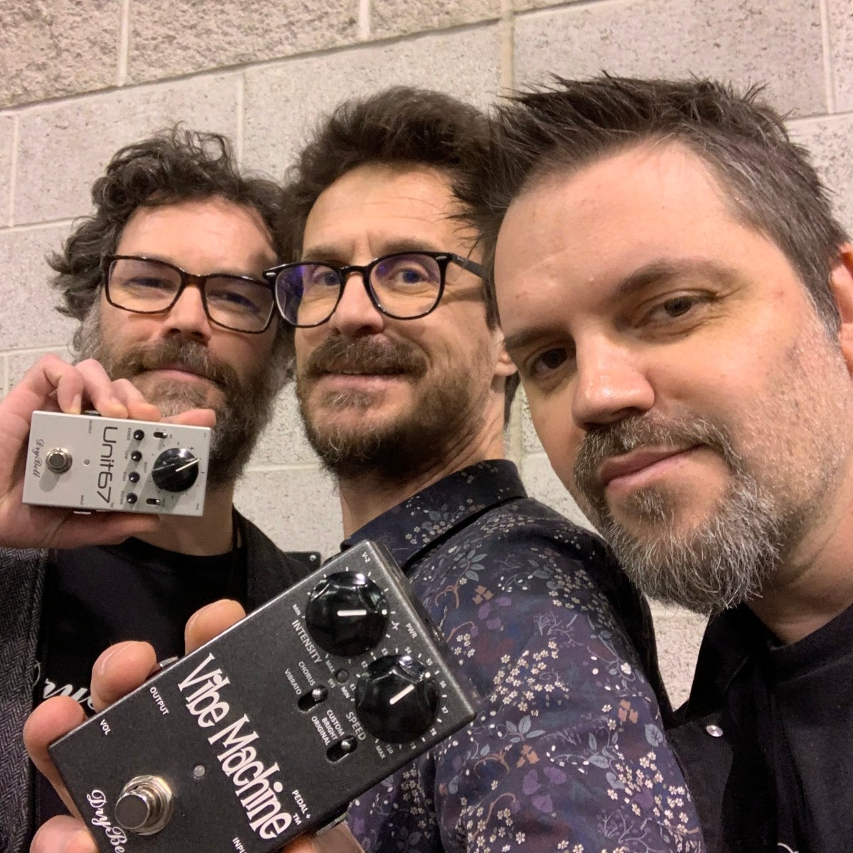 Kruno and Tom interview from Drybell pedals - 2019 Winter NAMM