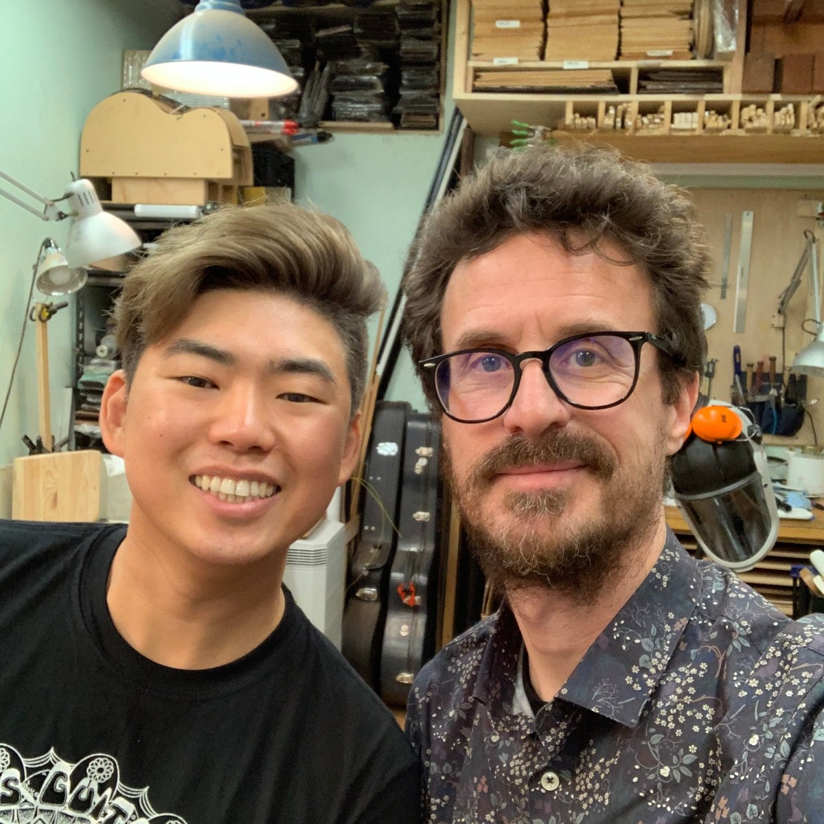 2019 Winter NAMM debrief - Luthier Isaac Jang interview