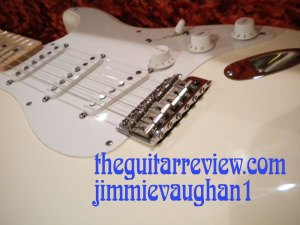 Fender Jimmie Vaughn Strat Body Beauty Shot