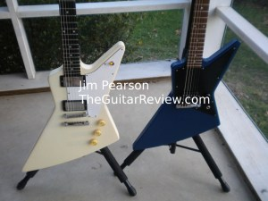 Gibson Explorer Melody Maker Size Comparison Jim Pearson