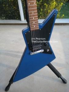 GibsonMelodyMakerExplorerBlueBodyShotJimPearson
