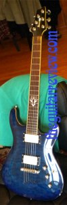 Ibanez SZ520 CUSTOMIZED Front with EMGs