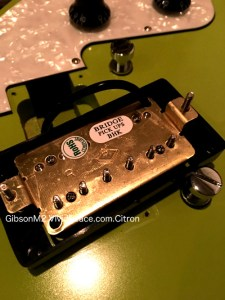 The Gibson M2 Bridge pickup backside view. Photograph by VividPeace.com