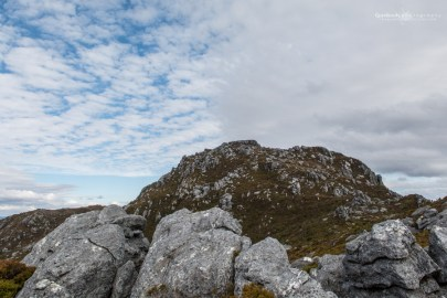 Mount Sprent, looking at the last leg and the top.