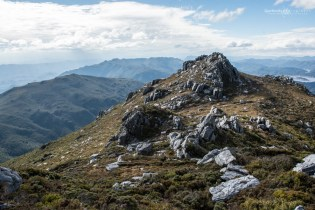 Mount Sprent rocky bits