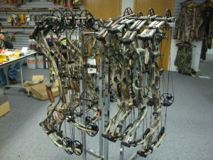 New bows in stock everyday at The Gun Room Inc.