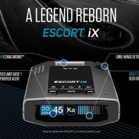 A Legend Is Reborn With New ESCORT iX Intelligent Radar Laser Detector