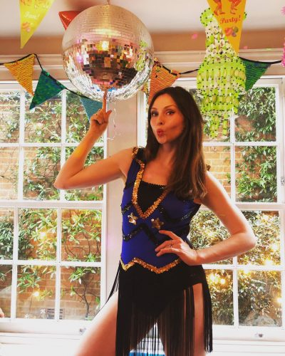 Sophie Ellis-Bextor in her kitchen disco