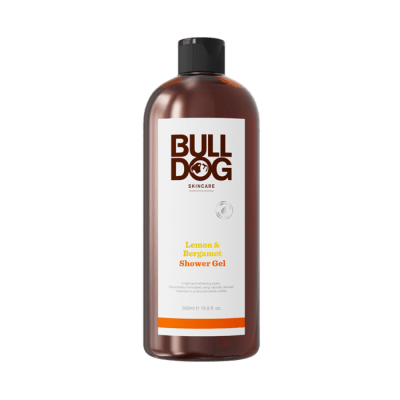 Bulldog lemon and bergamot shower gel