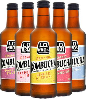 Lo Bros Kombucha range
