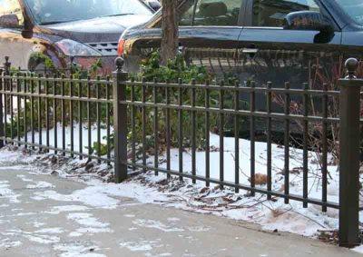 Dark Bronze Parkway Fence