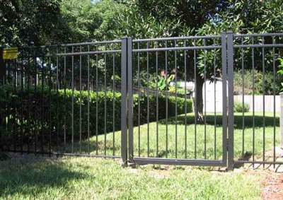Light Bronze Ascot Gate