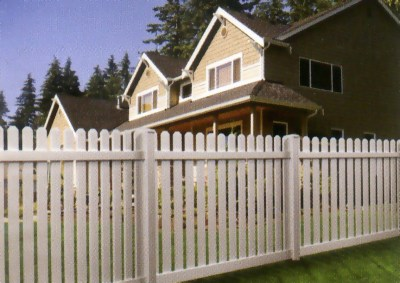 PVC Traditional Picket