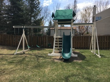 Swing Kingdom and Separate Monkey Bar