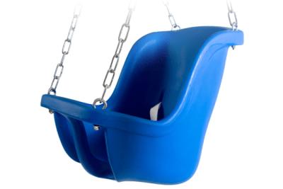 baby swing blue