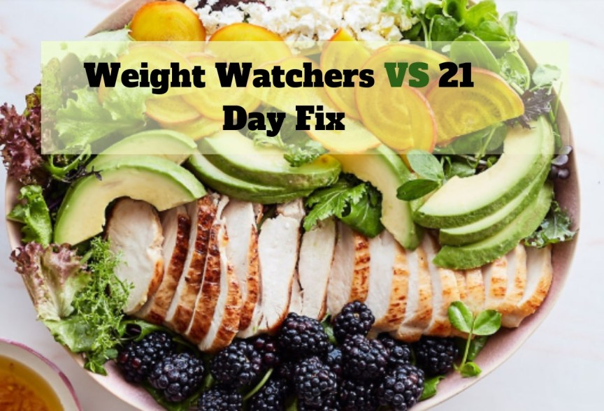 Weight Watchers Vs 21 Day Fix June 2019 A Comparative Review