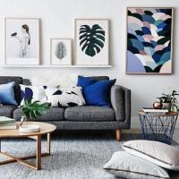 Living room inspiration: how to style a grey sofa  the ...