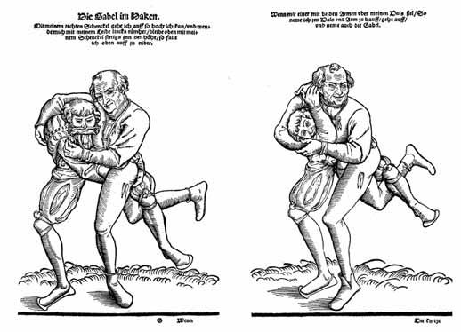 Unarmed Combat in Renaissance Martial Arts