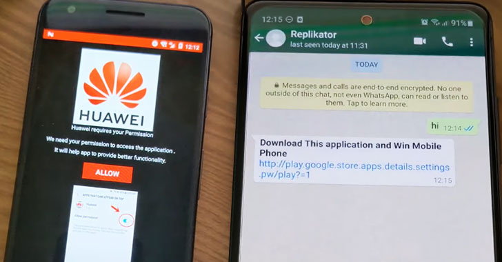 Wormable Android Malware