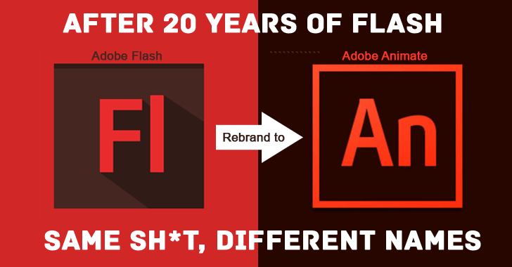 Adobe To Kill Flash But By Just Renaming It As Adobe Animate Cc