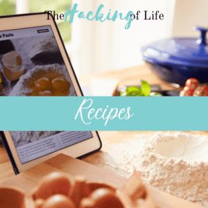 Recipes Banner