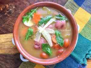 Instant Pot Garden Vegetable Soup