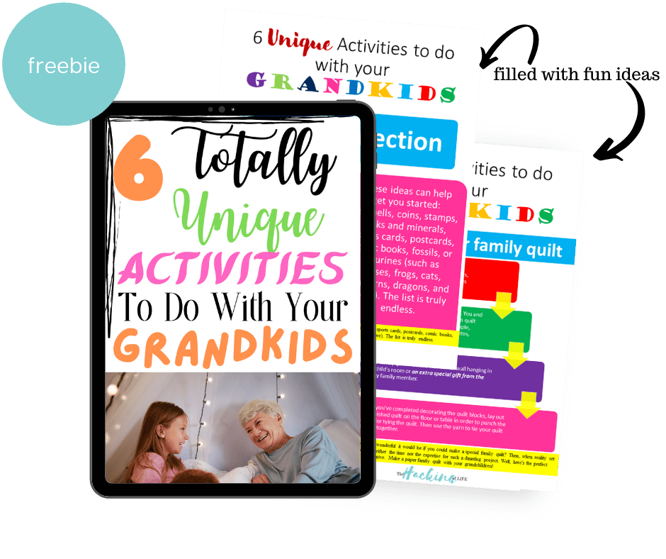 6 Activities to do with your grandkids