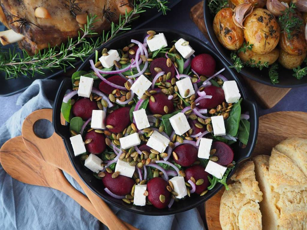 BEETROOT SALAD by aussiehomecook.com