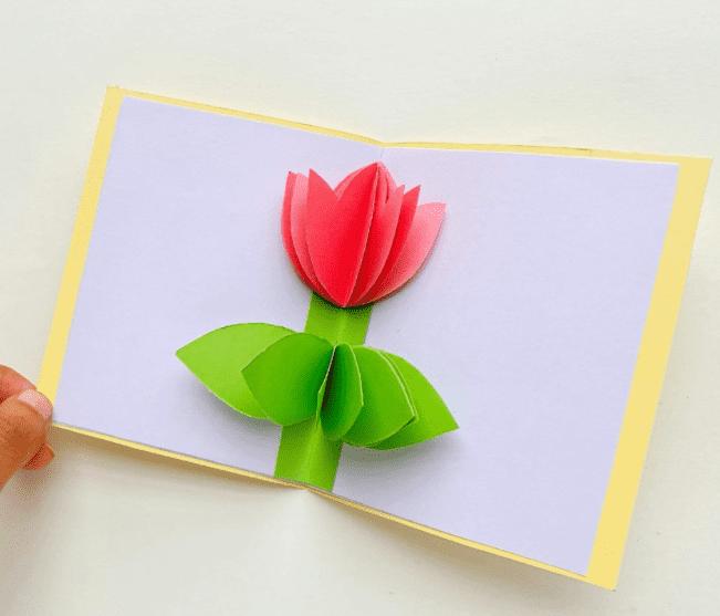 mothers day pop up card by easycraftsforkids.com