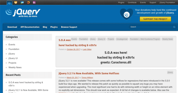 jQuery Hacked