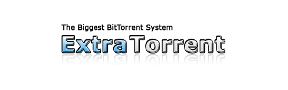 A logo of the official ExtraTorrent website.
