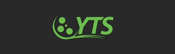 An image of torrent website's YTS logo.