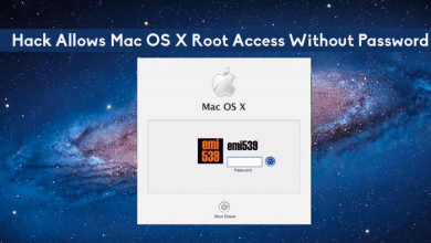 Photo of Mac OS X Exploit – Allow Anyone to root Access to your Mac