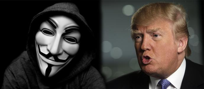 Anonymous Just Declared War Against Donald Trump