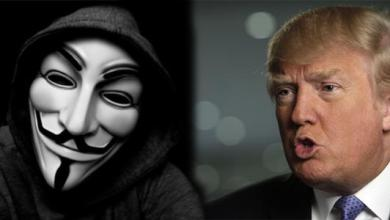 Photo of Anonymous Just Declared War Against Donald Trump